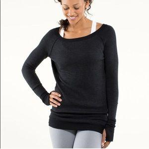 Lululemon reversible chai pullover- Size 10